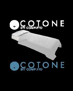 Set Completo Antiacaro AlleZero 100% Cotone