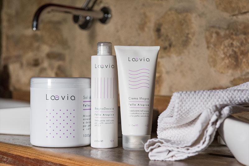 Kit A Percorso Laevia per Dermatite Atopica in bagno