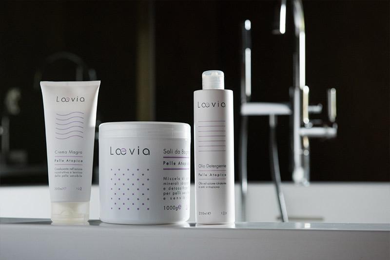 Kit B Percorso Laevia per Dermatite Atopica in bagno
