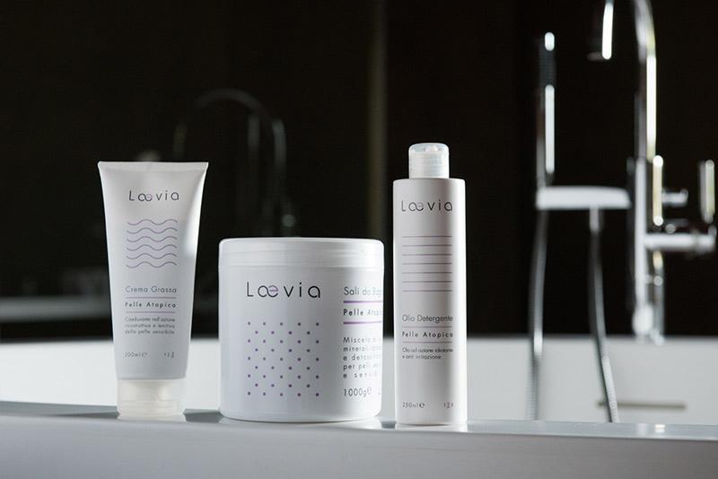 Kit D Percorso Laevia per Dermatite Atopica in bagno